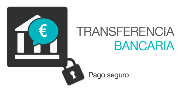 Pago mediante ingreso o transferencia bancaria for Transferencia bancaria